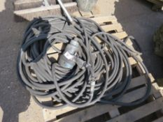 PALLET CONTAINING HEAVY DUTY AIR WRENCH PLUS SOCKETS AND AIR HOSE, EX COMPANY LIQUIDATION