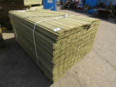 1 X PACK OF SHIPLAP FENCE TIMBER CLADDING @1.72METRE LENGTH X 9CM WIDE