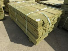 1 X PACK OF FEATHER EDGE TIMBER CLADDING @1.8METRE LENGTH X 10CM WIDE APPROX