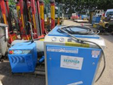 RENNER RS18.5 PACKAGED AIR COMPRESSOR PLUS RECEIVER AND DRIER. 2910 LITRES/MINUTE CAPACITY, YEAR 200