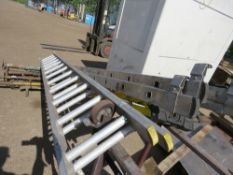 2 x 2STAGE ALUMINIUM LADDERS AND GRP STEP LADDER sourced from company liquidation
