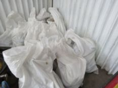 16 x Bags of assorted lorry spares to include brake discs, mirrors, bulbs, pipes and exhaust bracke