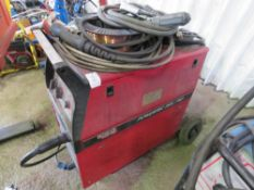 LINCOLN POWERTEC 350C PRO MIG WELDER 3 PHASE sourced from company liquidation