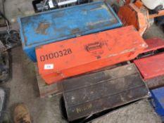 3 x Europress 10tonne hydraulic puller sets