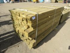 1 X LARGE PACK OF FEATHER EDGE CLADDING TIMBER @1.75M LENGTH X 10CM WIDTH APPROX