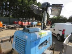 VT1 Eco towed lighting tower yr2010. Runs, makes power and lifts. PN: 5134FC