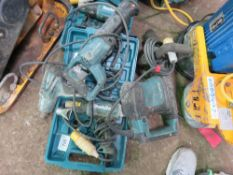 MAKITA 110VOLT BREAKER, 3 X HEAT GUNS PLUS RECIP SAW