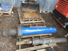 2no. Large lorry tipping rams