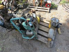 2 X TRENCH COMPACTORS AND WACKER UPRIGHT BREAKER FOR SPARES