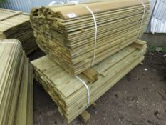 2 X LARGE PACKS OF SHIPLAP CLADDING TIMBER 1.83 AND 1.4METRES LENGTH X 9.5CM WIDE X 1.5CM DEPTH APP