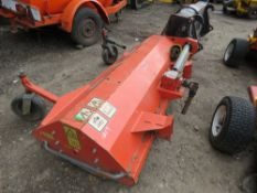 KUHN TLT150 FLAIL HEAD EX KUBOTA F SERIES MOWER, YEAR 2004. WORKING WHEN REMOVED...REQUIRES REAR ROL