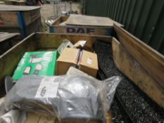 STILLAGE CONTAINING LDV AND ASSORTED TRUCK PARTS