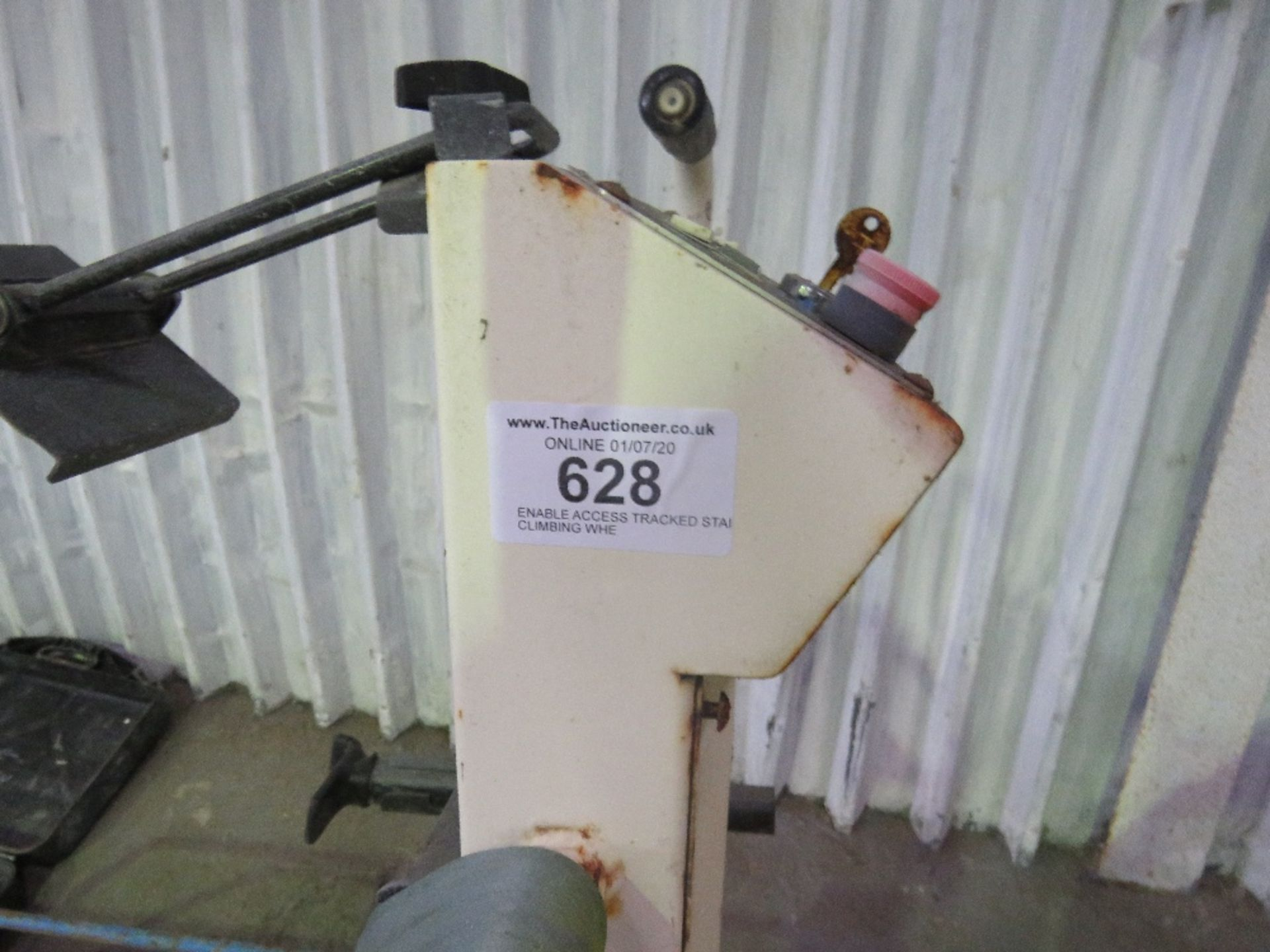 Lot 628 - ENABLE ACCESS TRACKED STAIR CLIMBING WHEEL CHAIR UNIT, CONDITION UNKNOWN