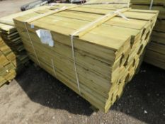 LARGE PACK OF FEATHER EDGE CLADDING TIMBER 1.5METRES LENGTH X 10CM WIDE