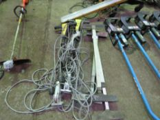 3X GRUNDOMOT MOLE SCOPE TELESCOPIC PROPS plus 2 x karcher machine handles