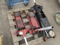 3 X TROLLY JACKS EX COMPANY LIQUIDATION