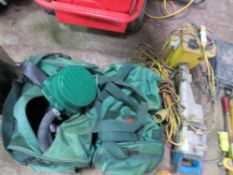 2 X BAGS OF ASBESTOS REMOVAL BREATHING EQUIPMENT