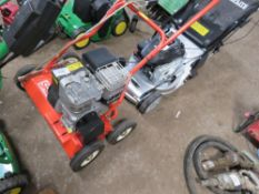 SABO 45-210 PETROL ENGINED SCARIFIER/SLITTER...LITTLE SIGN OF WEAR/