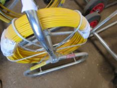 COBRA REEL 4MM X 100METRE LENGTH, DIRECT EX LOCAL COMPANY DUE TO A CHANGE IN POLICY