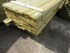 LARGE PACK OF SHIPLAP CLADDING TIMBER 1.83METRES LENGTH X 9.5CM WIDE X 1.5CM DEPTH APPROX