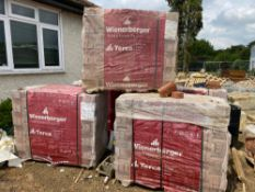 5 X PACKS OF 65MM OLDE WELWYN RED BRICKS. 528 IN EACH PACK. SOLD AS ONE LOT. BUYER TO COLLECT FROM
