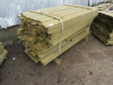 LARGE PACK OF SHIPLAP CLADDING TIMBER MAINLY 1.75METRES LENGTH X 9.5CM WIDE X 1.5CM DEPTH APPROX