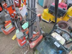 HUSQVARNA 110VOLT DIAMOND DRILLING RIG WITH STAND