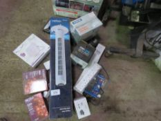 3no. Fan heaters plus other electrical items