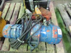 NITCHI 110V POWERED 1 TONNE GANTRY HOIST, UNTESTED