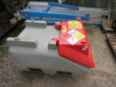 WESTERN MINI BOWSER UNIT WITH ELECTRIC PUMP FOR PICKUP ETC