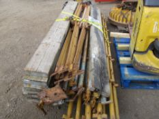 PALLET OF QUICK STAGE SCAFFOLDING