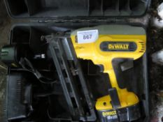 DEWALT NAIL GUN IN CASE