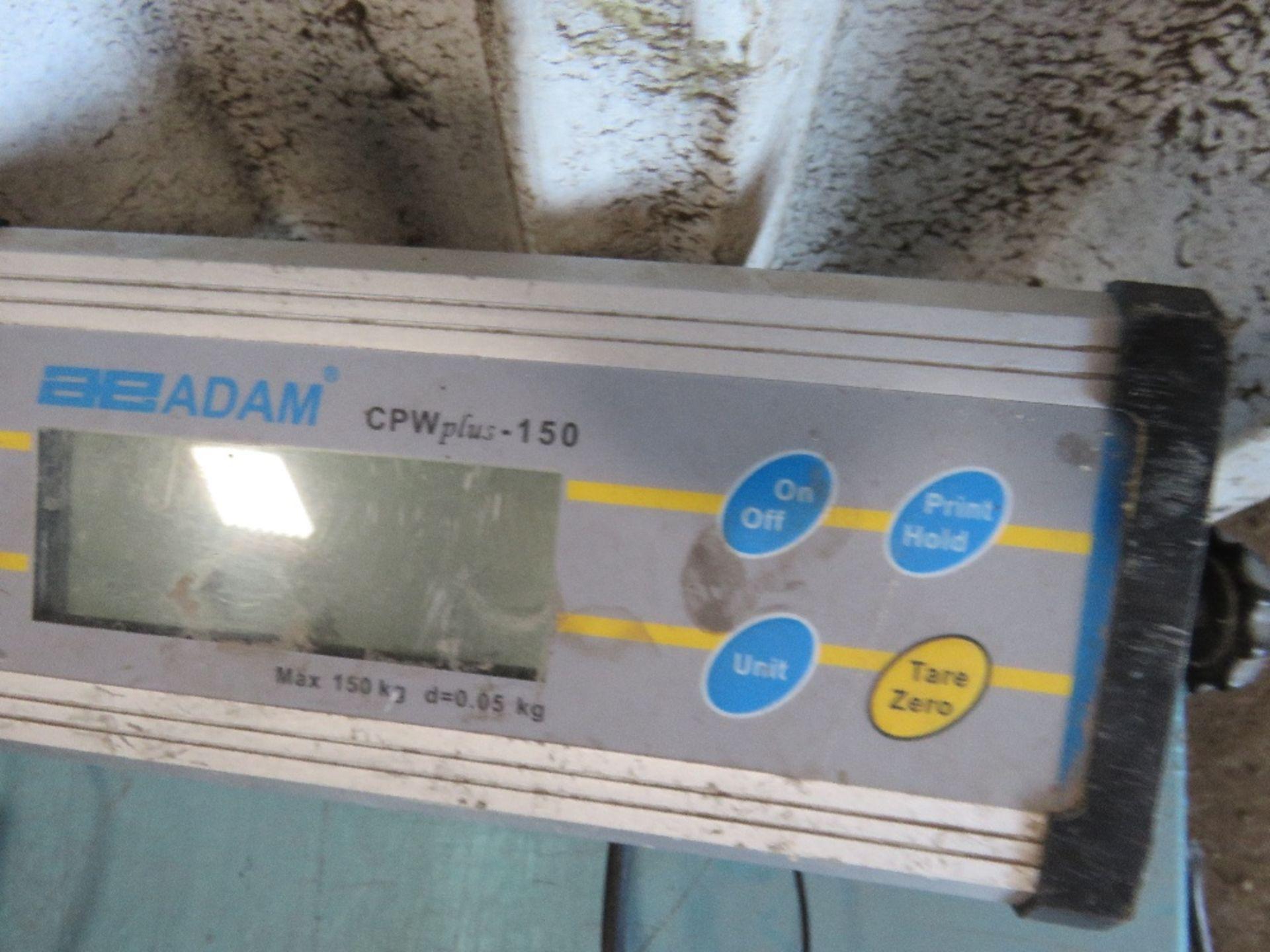 Lot 905 - ADAM ELECTRONIC SCALES....EX COMPANY LIQUIDATION