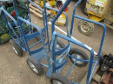 3 X BARREL TROLLEYS....EX COMPANY LIQUIDATION