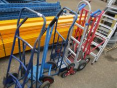 ALUMINIUM SACK BARROW PLUS 5 OTHERS 6 NO. IN TOTAL