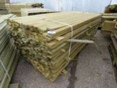 LARGE PACK OF VENETIAN SLAT CLADDING TIMBER 1.83METRES LENGTH X 4.7CM WIDE X 1.5CM DEPTH APPROX
