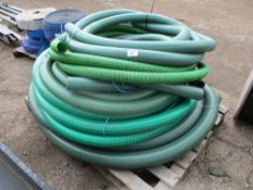 "LARGE PALLET OF SUCTION HOSE, MAINLY 3"" SIZE"