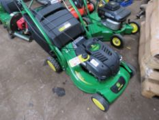 JOHN DEERE R52VB PEDESTRIAN MOWER WITH BAG COLLECTOR. UNUSED. 21""