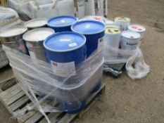 QUANTITY OF PAINTING COMPOUNDS....EX COMPANY LIQUIDATION