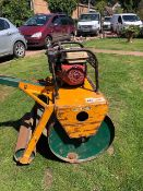 KESMAC HONDA ENGINED ROLLER FOR GREEN KEEPER ETC. WHEN TESTED WAS SEEN TO RUN AND DRIVE