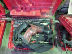 2 X HILTI TE7 BREAKERS PLUS DRILL BITS & SUNDRIES, DIRECT FROM COMPANY LIQUIDATION