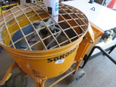 SOROTO 100L-30 FORCED ACTION MIXER. 110VOLT POWERED. WHEN TESTEDW AS SEEN TO RUN AND MIX...DIRECT EX