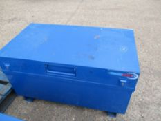 TRADE SAFE TOOL SAFE, KEYS INSIDE...BLUE