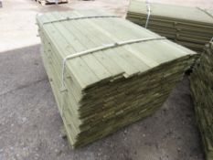 LARGE PACK OF SHIPLAP CLADDING TIMBER 1.42METRES LENGTH X 9.5CM WIDE X 1.5CM DEPTH APPROX