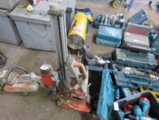 HUSQVARNA DIAMOND DRILLING RIG ON STAND 110VOLT