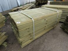 LARGE PACK OF SHIPLAP CLADDING TIMBER 1.73METRES LENGTH X 9.5CM WIDE X 1.5CM DEPTH APPROX