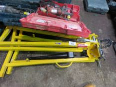 2 X PIPE BENDING STANDS