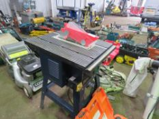 FERM SMALL SIZED HOBBY SAWBENCH, 240 VOLT.