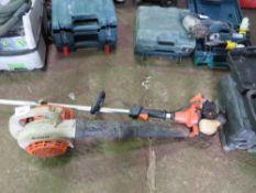 HITACHI STRIMMER PLUS STIHL HAND HELD BLOWER
