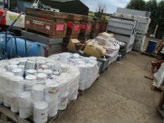 5 X PALLETS OF ASSORTED PAINTS....EX COMPANY LIQUIDATION